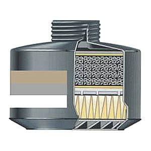 Filtr kombinovaný CF 22 A2B2 - P3