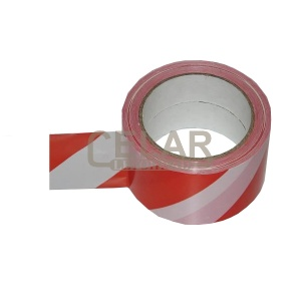 páska G NORMOVANÁ červená/bílá samolepící, šíře 60mm