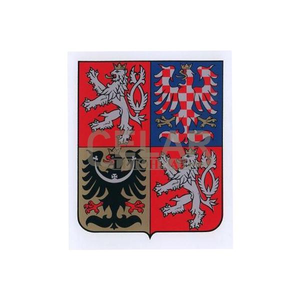 Státní znak ČR na plastu 350x420 mm