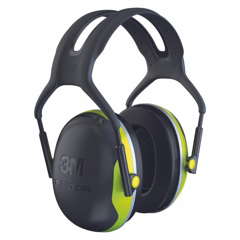3M PELTOR X4A SNR 33 dB sluchátka se štíhlou mušlí