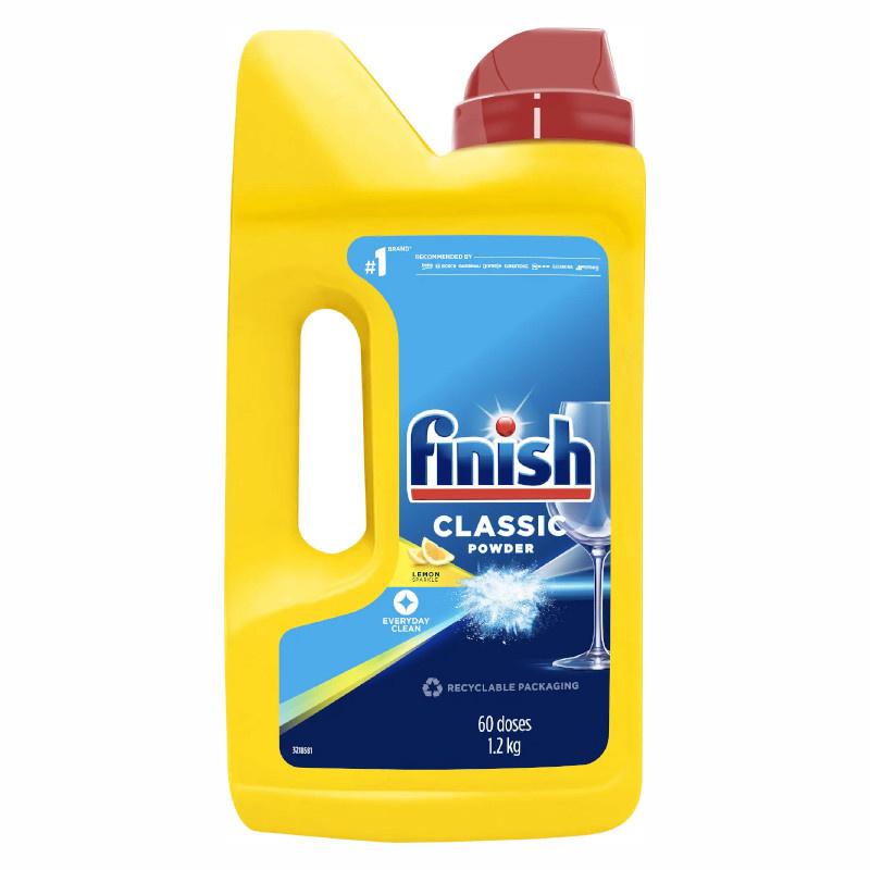 FINISH / CALGONIT 2,5kg prášek na mytí do myčky
