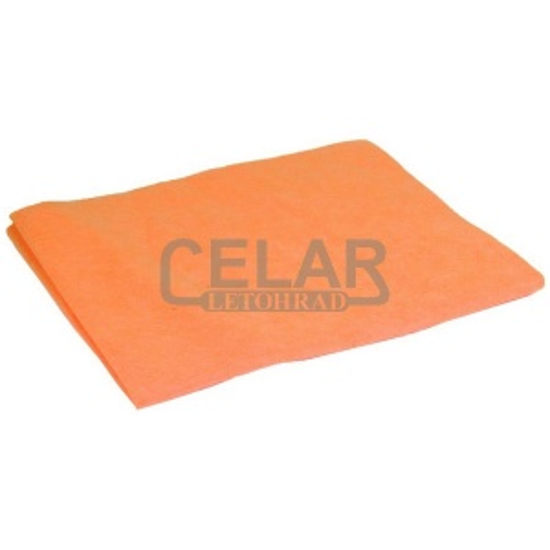 Hadr PETR na podlahu, oranžový 50x60cm