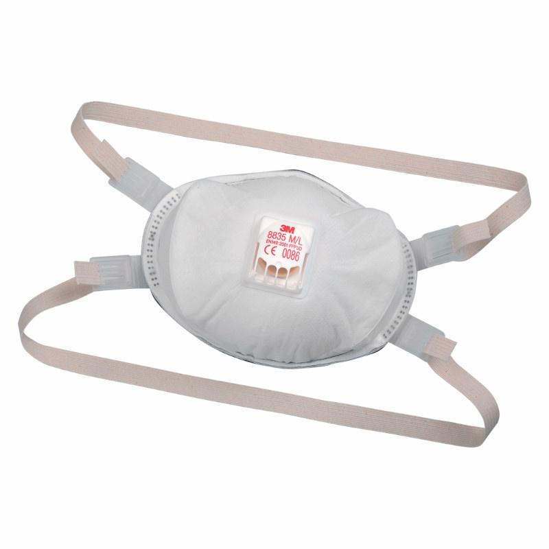 3M 8835  FFP3 respirátor ventilek 50xNPK P