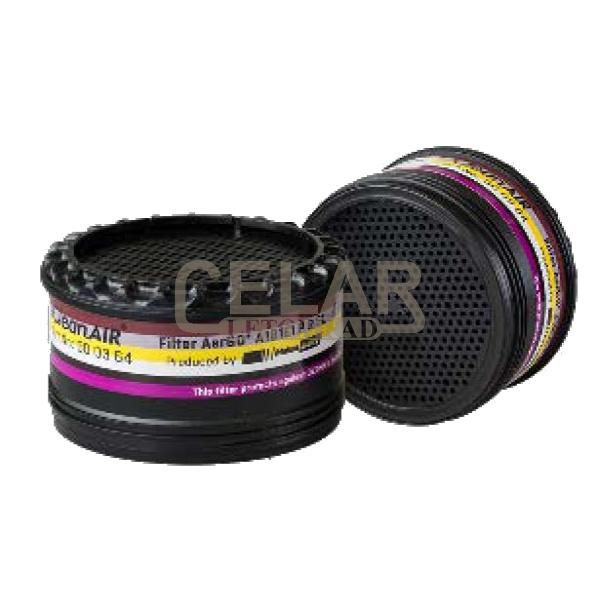 CLEANAIR Filtr komb. A1B1E1 P R SL ozón pro AerGO (2ks)