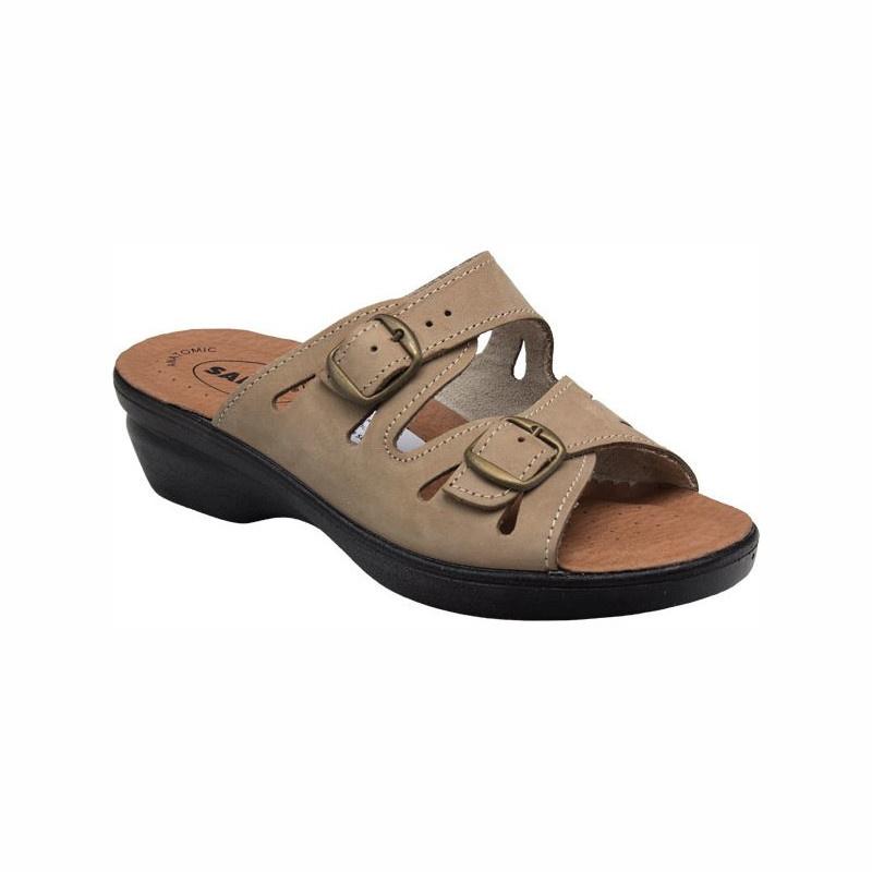 SANTÉ PO/5146 Pantofle dámské BÉŽOVÁ
