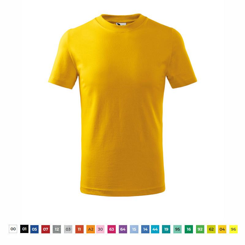 tričko dětské BASIC 138 kr.ruk.U