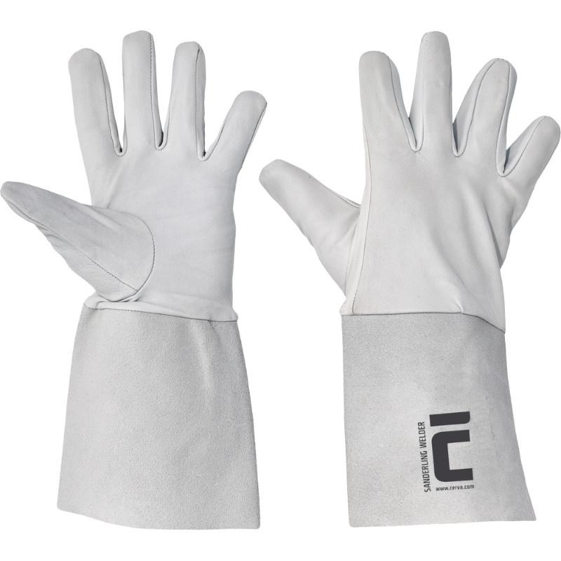 SANDERLING WELDER rukavice svářečské-B  jemné