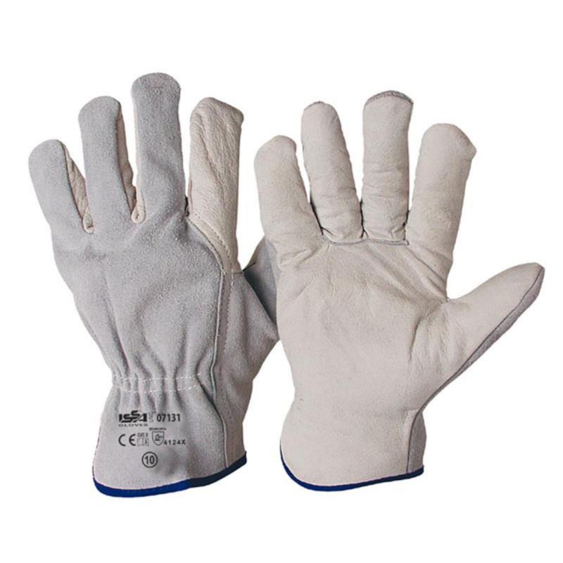 07131 rukavice celokožené jemné lícovka/štípenka