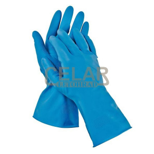 STARLING BLUE rukavice latex protiskluz - 9