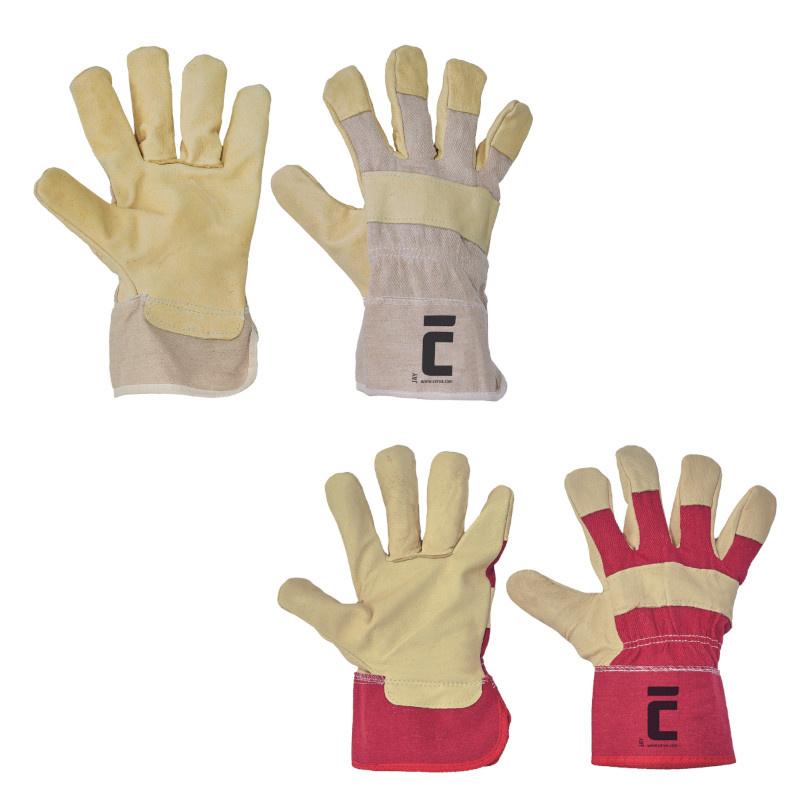 JAY rukavice kombinované