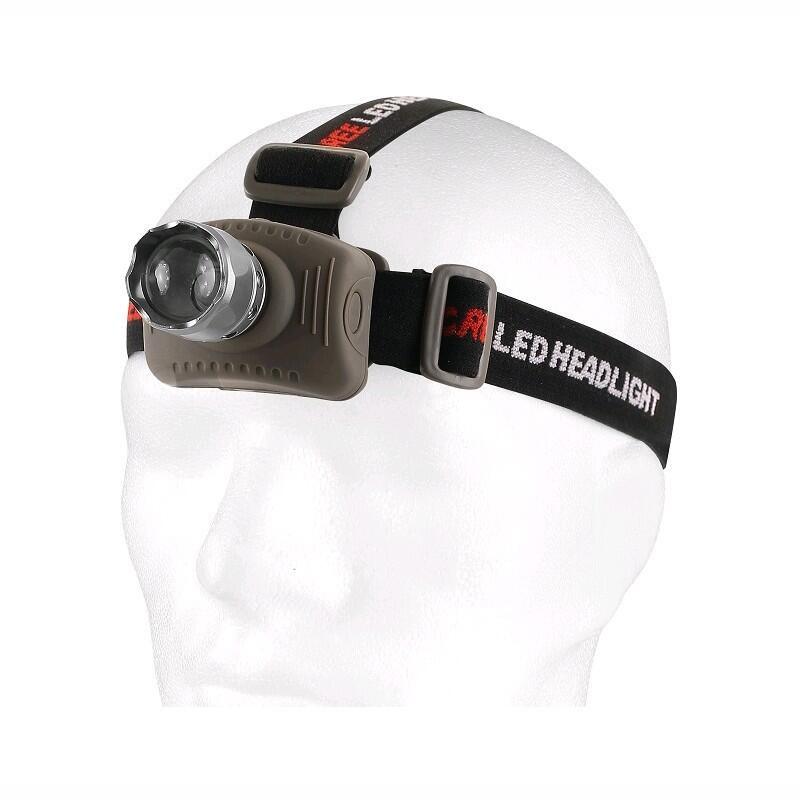 Čelovka LED s hliníkovým tělem 120lm 3W fokus