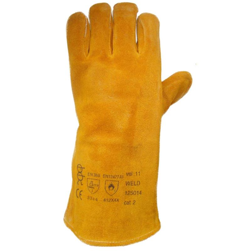 WELD LEFT (POUZE LEVÁ) rukavice svářečská žlutá - 11