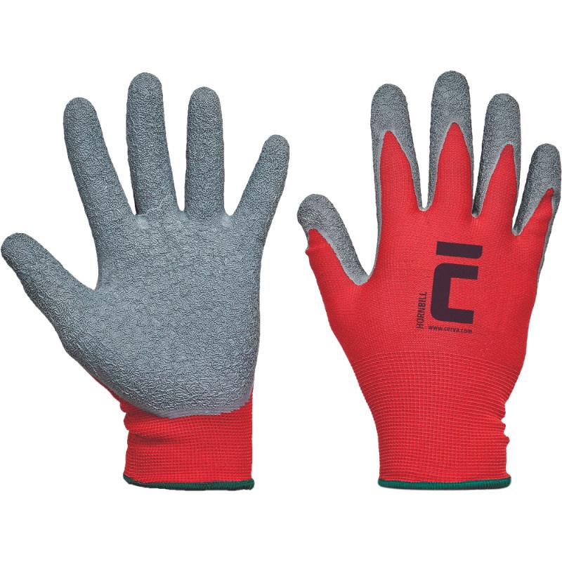 HORNBILL rukavice pletené bezešvé nylonové