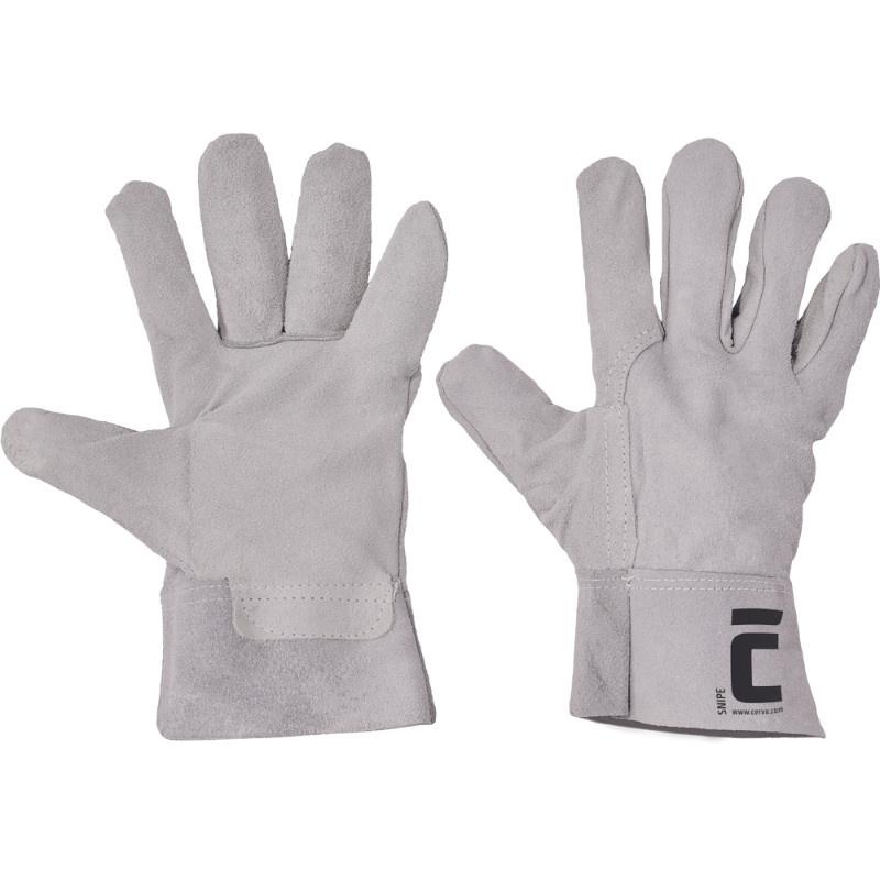 SNIPE rukavice celokož.hov.štíp.manž.7cm