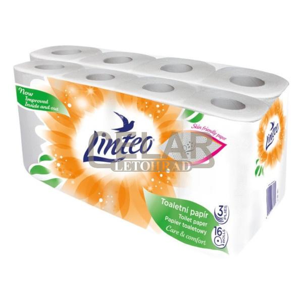 LINTEO SATIN 3-vrstvý toaletní papír (16ks)