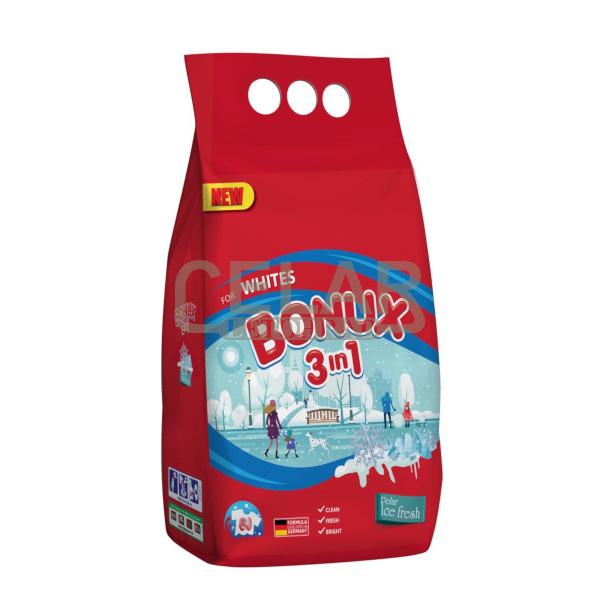 BONUX 6kg / 80 PD White Polar prací prášek
