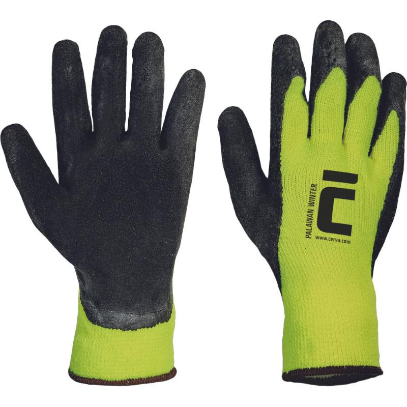 PALAWAN WINTER ruk.zimní nylon úplet latex