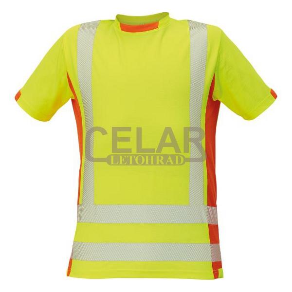 tričko LATTON HI-VIS krátký rukáv