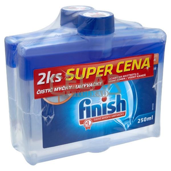 FINISH 2x250ml čistič myčky