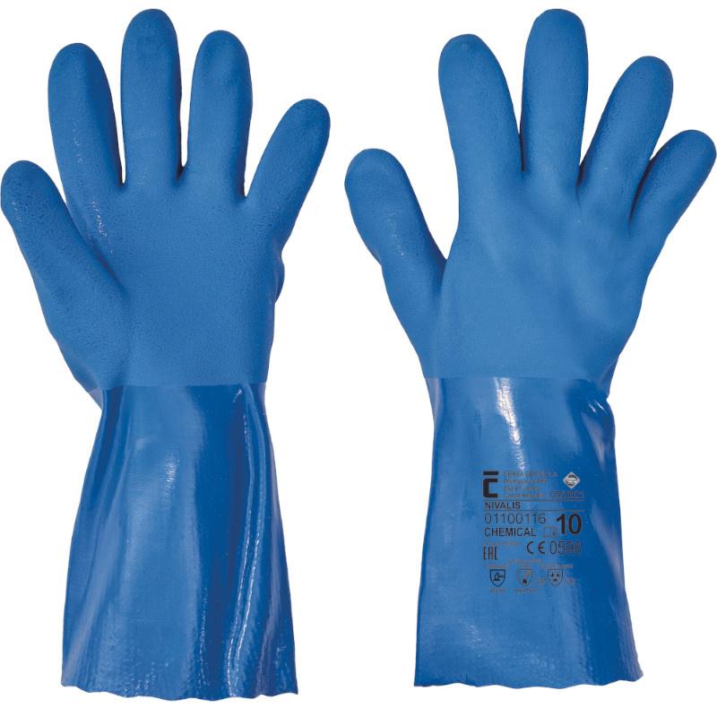 NIVALIS rukavice z PVC - 10