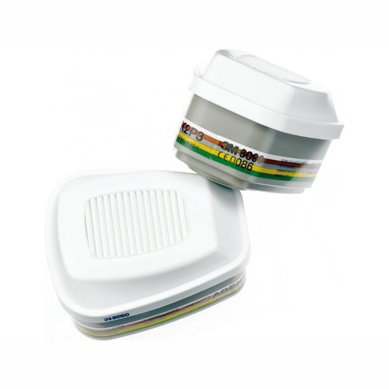 3M 6099 filtr proti plynům ABEK2HgP3 R+FORMALDEHYD