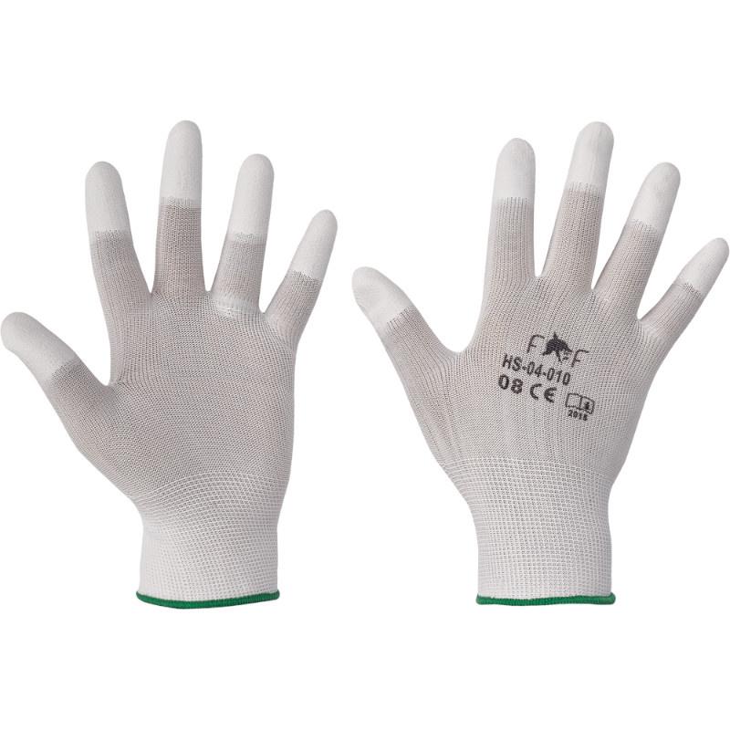 HS-04-010 LARK LIGHT rukavice textil PU prsty