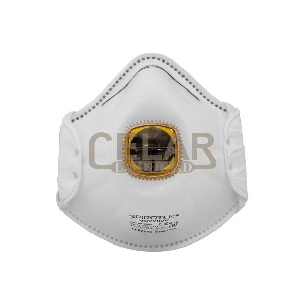 SPIROTEK VS2200V FFP2 respirátor s ventilkem