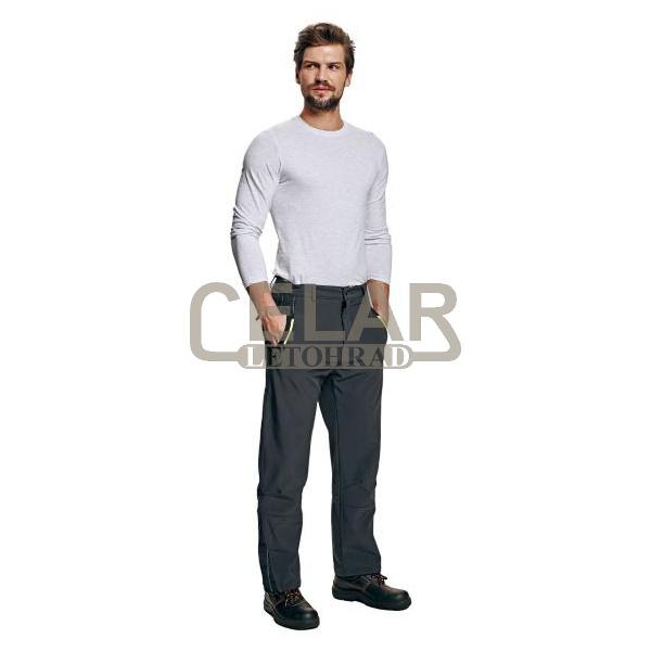 OLZA kalhoty softshellové