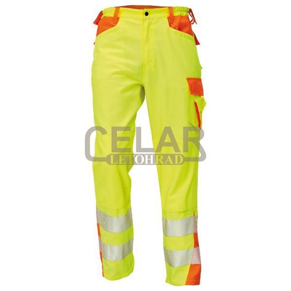 LATTON kalhoty výstražné reflexní HV