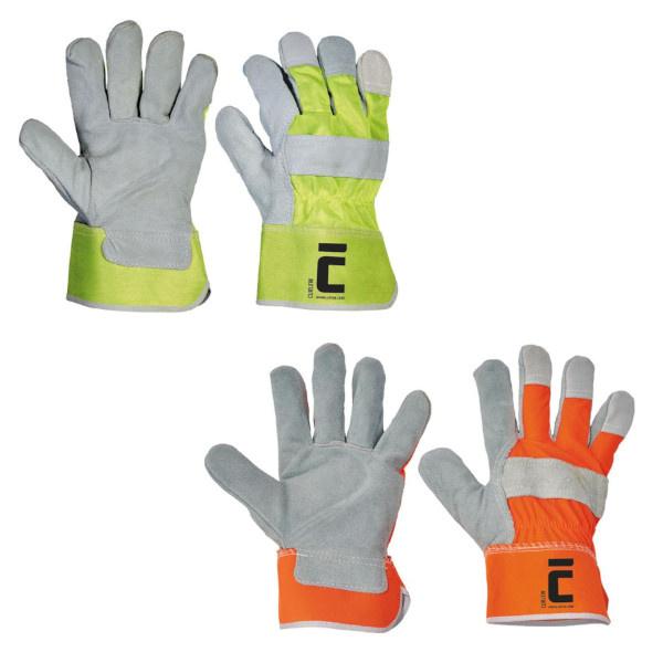 CURLEW rukavice reflexní HV