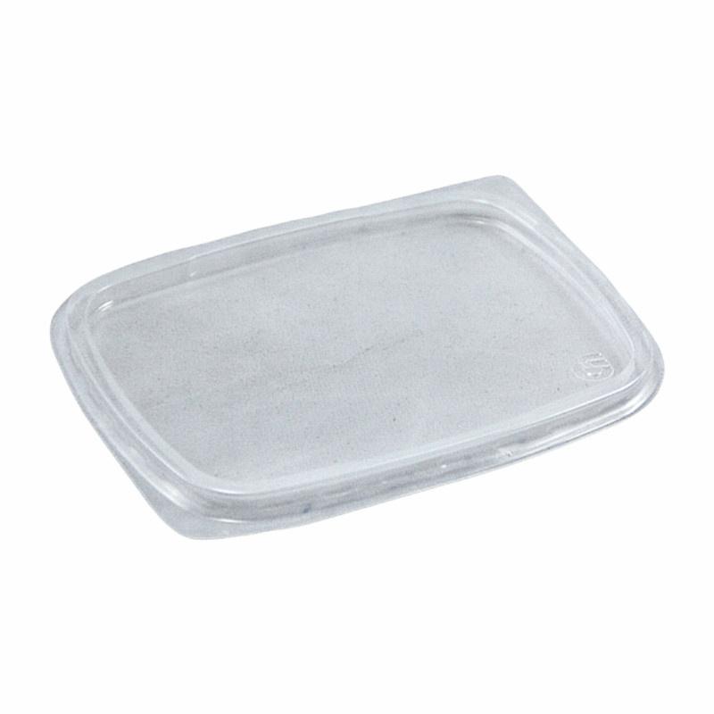 Víčko PP hran.na misku 200/250/500ml ideal pack®(100ks)