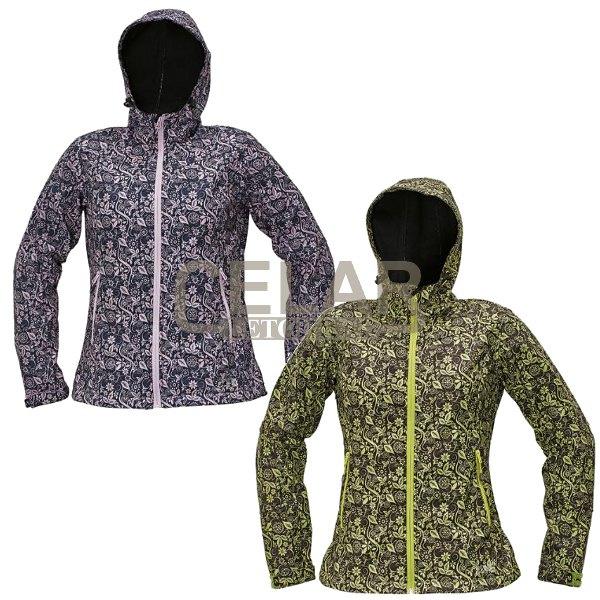 YOWIE printed bunda dámská softshell
