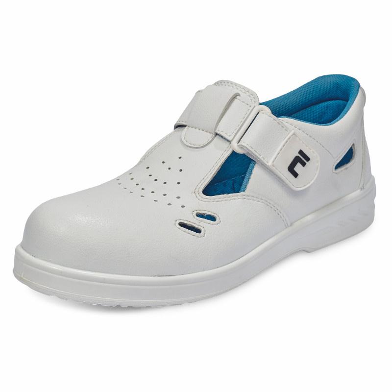 RAVEN WHITE SANDAL S1 sandál bezpečnostní