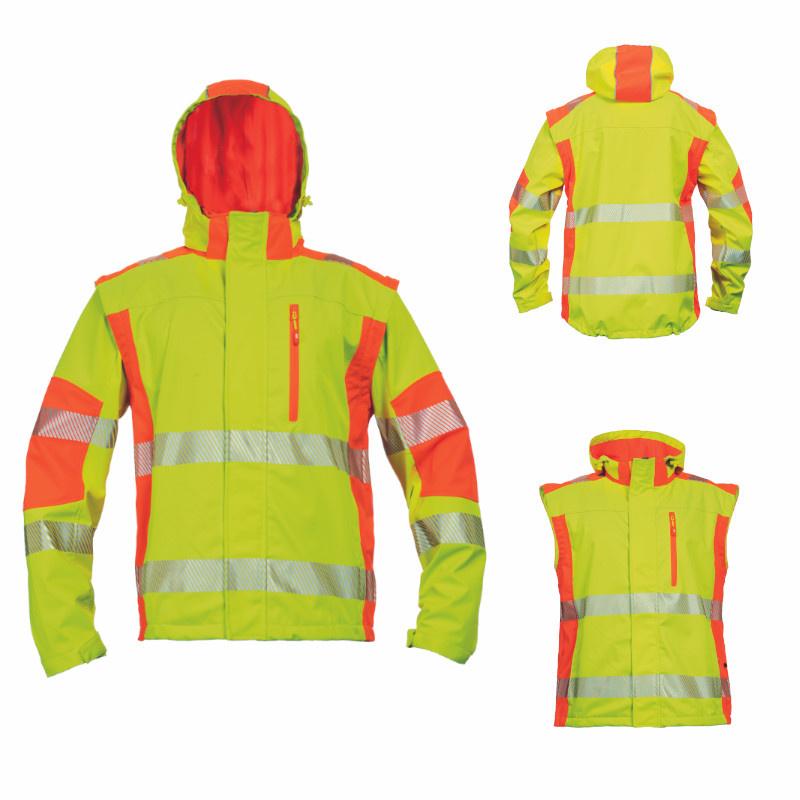LATTON bunda softshellová výstražná HV
