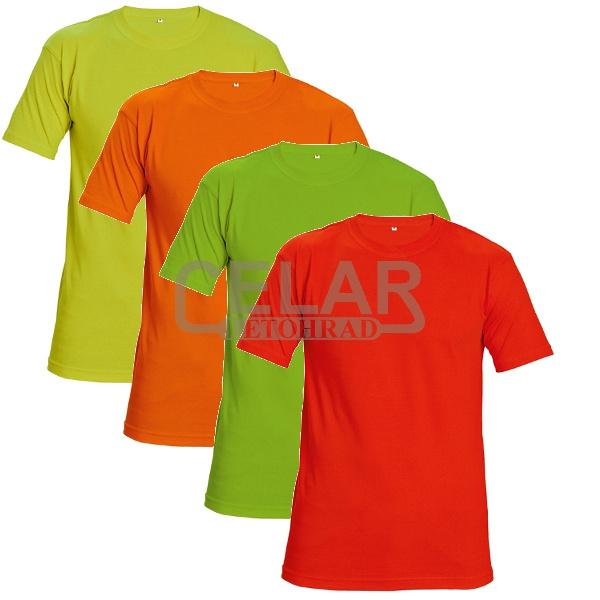 tričko TEESTA FLUORESCENT krátký rukáv