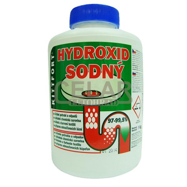 Hydroxid sodný LOUH 1000g perličky