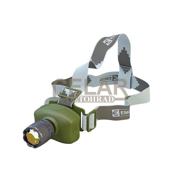 Čelovka P3512 1 LED 3W 3xAAA CREE EMOS