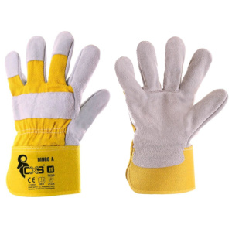 DINGO A (vysoká kvalita) rukavice kombinované - 11