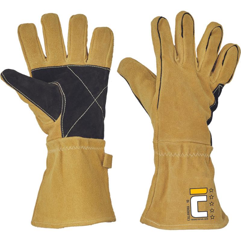 CALANDRA rukavice svářečské zesílené - 11