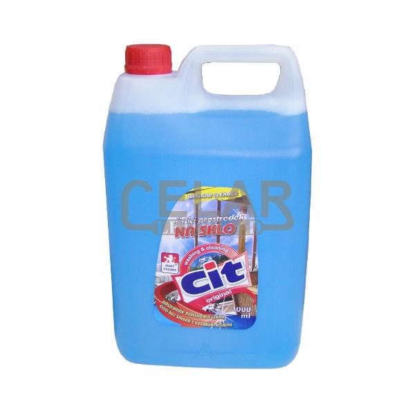 CIT čistič na sklo 5 L modrý