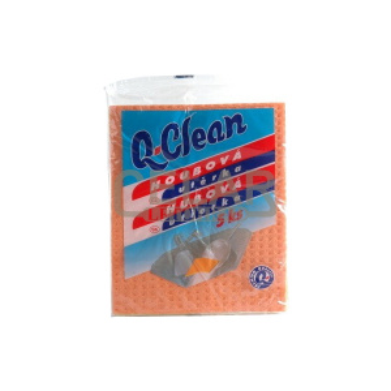 Q CLEAN houbová utěrka (5ks)