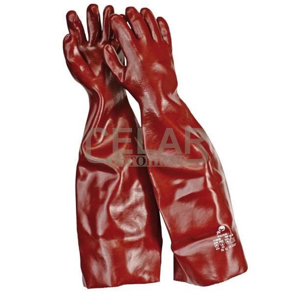 FULVUS rukavice máčené PVC na chemii