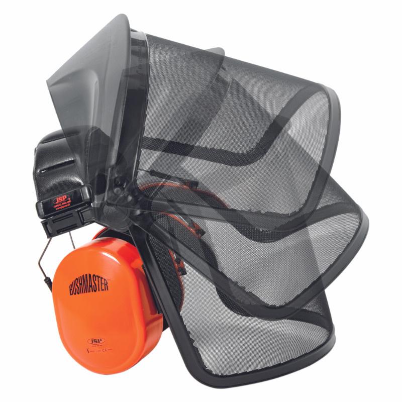 BUSHMASTER křovinořez komplet drátěný štít/sluchátka