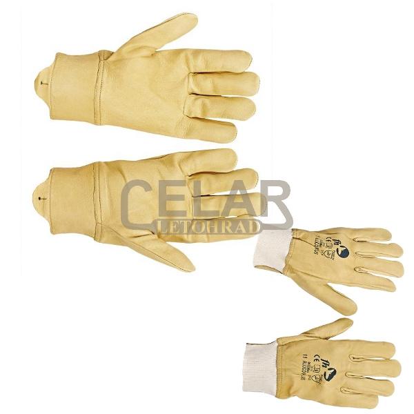 ALUCO PLUS FH rukavice celokožené