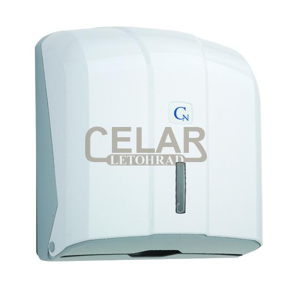 Zásobník CN papírových ručníků ZZ - bílý