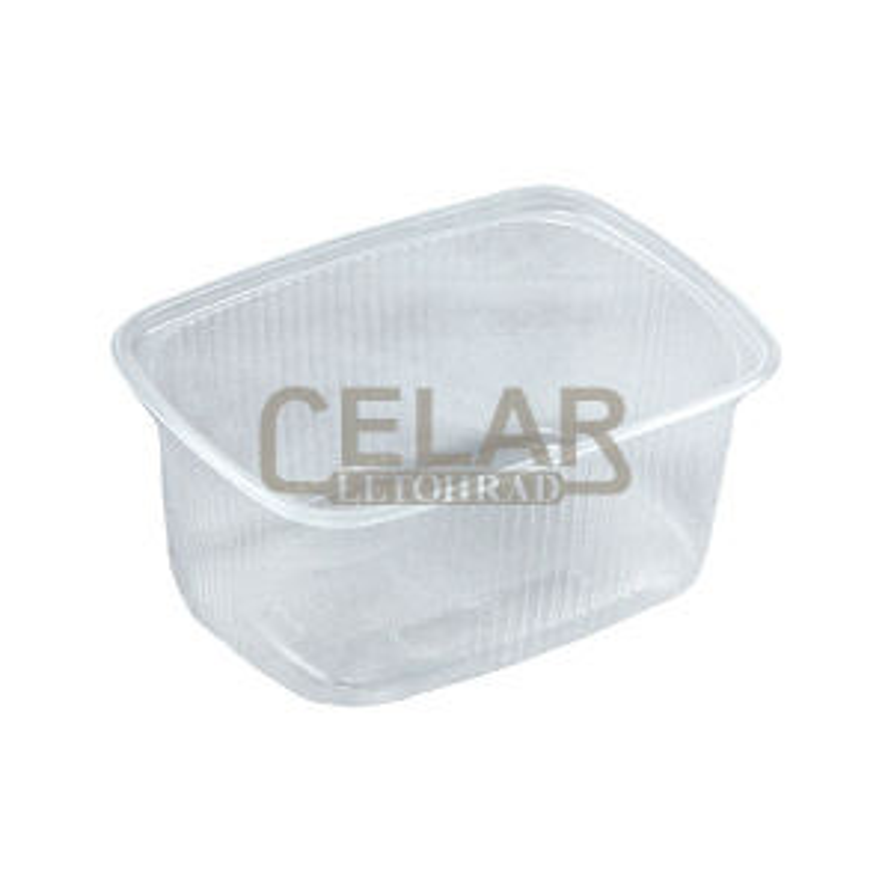 Miska PP 250 ml hranatá ideal pack® (100ks)
