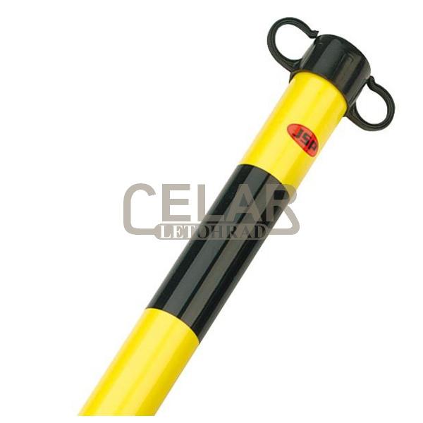 Sloupek JSP HDE100 - černá/žlutá