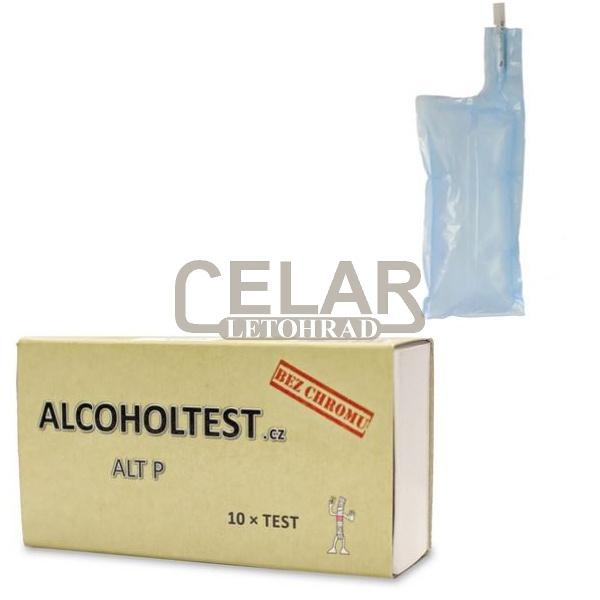 Alkoholtest ALT P - detekční trubičky alkoholu - 10ks