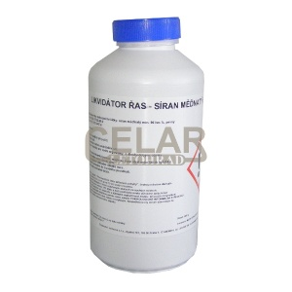 Síran meďnatý techn.1kg (modrá skalice) - likvidátor řas