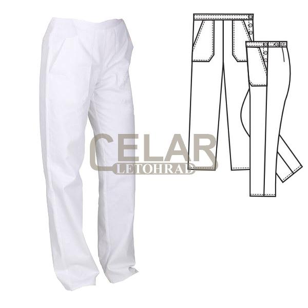 (2400) PAVLA kalhoty dámské pásek